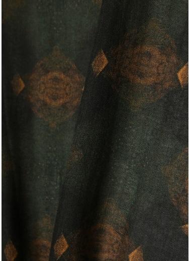 Pal Zileri Pal Zileri  Desenli Erkek Kaşmir Atkı 101628633 Kahve